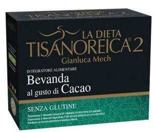 Tisanoreica - Bevanda Al Gusto Di Cacao 4 Preaparati Confezione 4X31,5 Gr