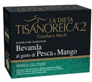Tisanoreica - Bevanda al Gusto di Pesca e Mango Confezione 4X29 Gr