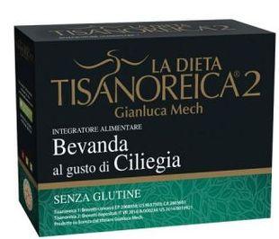 Tisanoreica - Bevanda al Gusto Di Ciliegia 4 Preparati Confezione 4X28,5 Gr