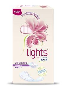 Tena - Lights Normal Ripiegati Confezione 22 Pezzi