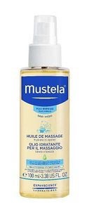 Mustela - Olio idratante Massaggi Confezione 100 Ml