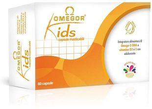 Omegor - Kids Integratore Omega 3 Per Bambini Confezione 60 Compresse