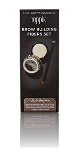 Toppik - Brow Building Fibers Set Light Brown Confezione 2 Gr