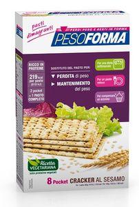 Pesoforma - Cracker Sesamo Confezione 240 Gr