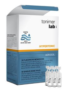 Tonimer Lab - Hypertonic Aerosol Confezione 18 Fiale