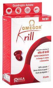Omegor - Krill Integratore All'Olio Di Krill e Omega 3 Confezione 30 Compresse