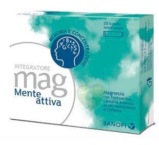 Mag - Mente Attiva Confezione  20 Bustine