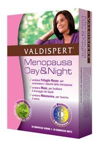 Valdispert - Menopausa Day&Night  30 Compresse Giorno e 30 Compresse Notte
