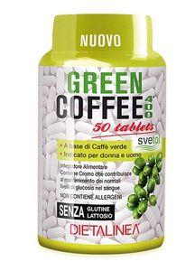 Dietalinea -  Green Coffee 400 Svetol Confezione 50 Compresse