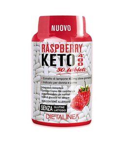 Dietalinea -  Raspberry Keto 400 Confezione 50 Compresse