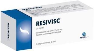 Resivisc - Siringa Intrarticolare Confezione 3 Siringhe Preriempite 2 Ml (Dispositivo Medico CE)
