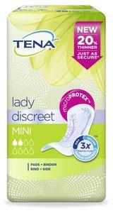 Tena - Pannolone Sagomato Lady Discreet Mini Confezione 20 Pezzi