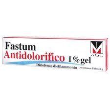 Fastum - Antidolorifico Gel 1% Confezione 50 Gr (Scadenza Prodotto 28/12/2020)