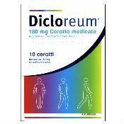 Dicloreum - Antinfiammatori Locali Confezione 10 Cerotti Medicati (Scadenza Prodotto 31/03/2021)