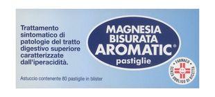Magnesia Bisurata - Aromatic Confezione 80 Pastiglie