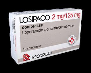 Losipaco - 2 Mg + 1125 Mg Confezione 12 Compresse (Scadenza Prodotto 28/04/2021)