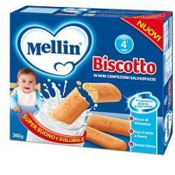 Mellin - Biscotto Confezione 360 Gr (Scadenza Prodotto 20/02/2021)