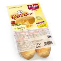 Schar - Ciabattine Senza Glutine Confezione 200 Gr (Scadenza Prodotto 06/01/2021)