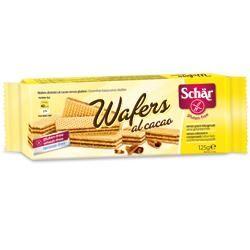Schar - Wafers Al Cacao Senza Glutine Confezione 125 Gr (Scadenza prodotto 30/07/2021)