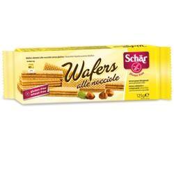 Schar - Wafers Alla Nocciola Senza Glutine Confezione 125 Gr (Scadenza Prodotto 03/03/2021)
