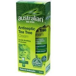 Optima naturals - Australian Tea Tree Antiseptic Cream Confezione 50 Ml