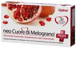 Optima naturals - Neocuore Di Melograno Plus Confezione 30 Compresse