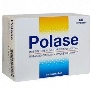 Polase - Integratore  Di Sali Minerali Senza Zucchero Confezione 60 Compresse