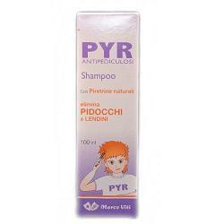 Marco Viti - Pyr Antipediculosi Shampoo Confezione 100 Ml (Scadenza Prodotto 28/04/2021)