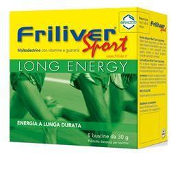 Friliver - Sport Long Energy Confezione 8 Bustine (Scadenza Prodotto 28/09/2021)
