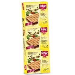 Schar - Noccioli Wafers Senza Glutine Confezione 3X21 Gr (Scadenza Prodotto 05/12/2020)