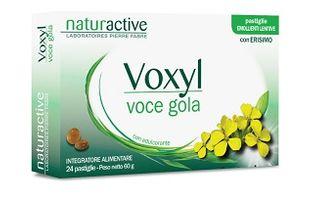 Voxyl Voce Gola - Confezione 24 Pastiglie (Confezione Danneggiata)