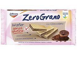 Galbusera - Zerograno Wafer al Cacao Senza Glutine Confezione 180 Gr (Scadenza Prodotto 28/05/2021)