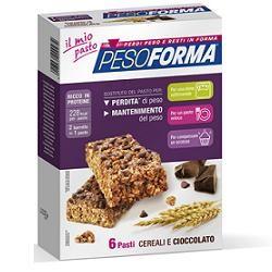 Pesoforma - Barretta Gusto Cereali e Cioccolato Confezione 12 Barrette