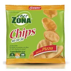 Enervit - Enerzona Chips 40-30-30 Snack Di Soia Gusto Pizza Confezione 23 Gr