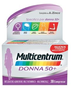 Multicentrum - Donna 50+ Confezione 30 Compresse