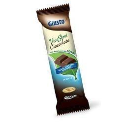 Giusto - Cioccolato Latte Con Stevia Senza Zucchero Confezione 35 Gr