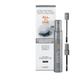Estetil - All In One Mascara 5 In 1 ( Volumizza Allunga Definisce Rinforza Ristruttura ) Confezione 7 Ml