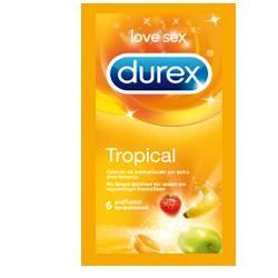 Durex - Tropical Easy-On Confezione 6 Profilattici