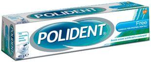 Polident - Free Adesivo Per Dentiere Confezione 40 Gr