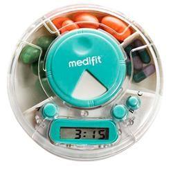 Innoliving - Medifit Portapillole Con Avvisatore Md-544