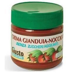 Giusto - Crema Gianduia Nocciole Senza Zucchero Confezione 200 Gr