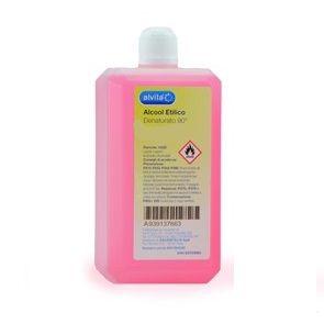 Alvita - Alcool Etilico Denaturato 90° Confezione 250 Ml