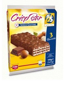 Schar - Crisp Bar Wafer Senza Glutine Confezione 3X35 Gr (Scadenza Prodotto 21/10/2021)