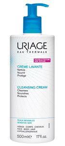 Uriage - Creme Lavante Confezione 500 Ml (Scadenza Prodotto 28/12/2021)