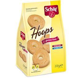 Schar - Hoops Biscotti Di Pastafrolla Senza Glutine Confezione 220 Gr (Scadenza Prodotto 06/08/2021)