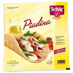 Schar - Piadina Senza Glutine Confezione 240 Gr (Scadenza Prodotto 28/06/2021)