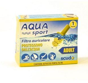 Earplug - Scudo Tappi Aquasport Ad Confezione 1 Paio