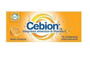 Cebion - Effervescente Vitamina C Arancia Confezione 10 Compresse