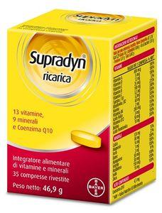 Supradyn - Ricarica Integratore Vitamine e Sali Minerali Confezione 35 Compresse