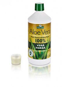 Optima naturals - Aloe Vera Forza Puro Succo Da Coltivazione Controllata Confezione 1000 Ml